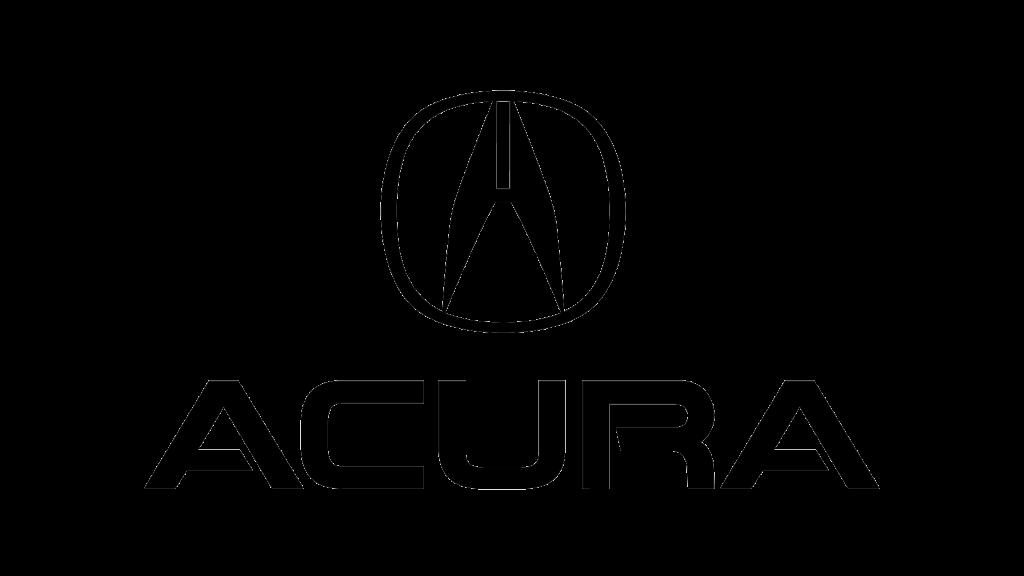 Эмблема Acura 1990 (черная)