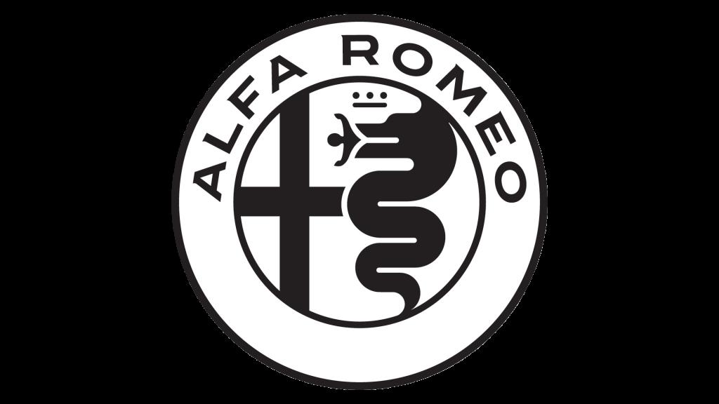 Лого Alfa Romeo (черный)