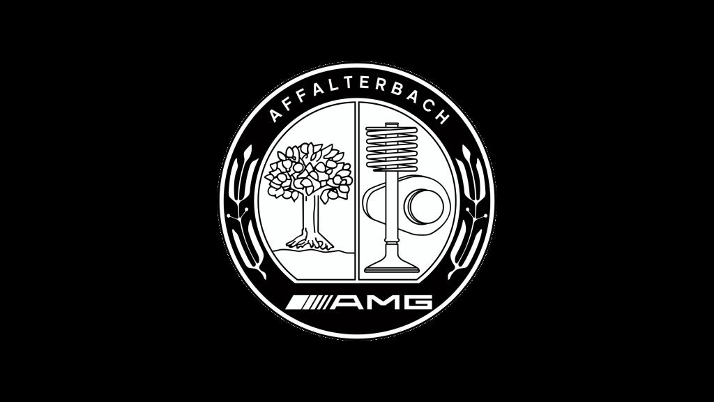 Эмблема АМГ (черная)