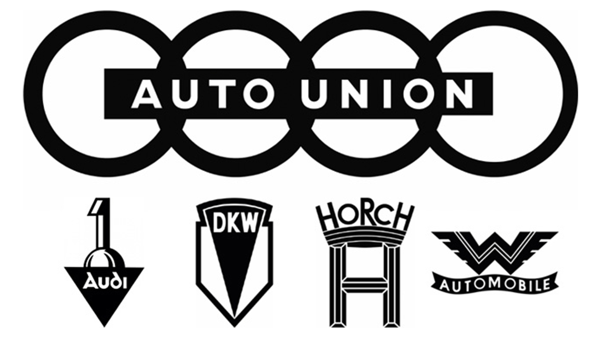 Эмблема Auto Union