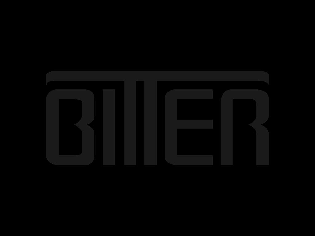 Текстовая эмблема Биттер