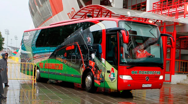 Автобус ФК «Локомотив»
