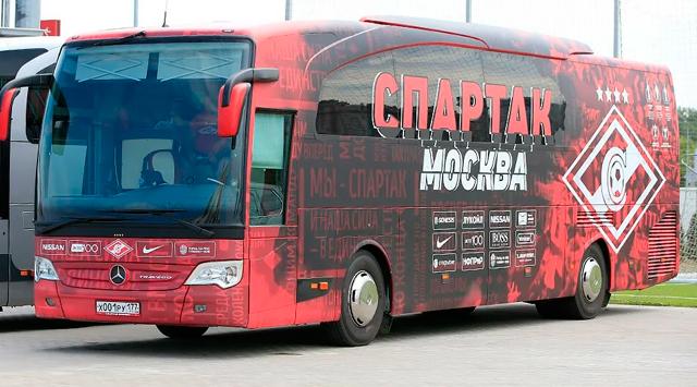 Автобус ФК «Спартак»