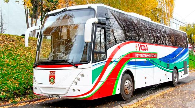 Автобус ФК «Уфа»