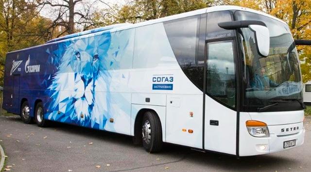Автобус ФК «Зенит»
