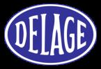 Логотип Delage