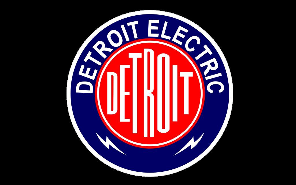 Эмблема Detroit Electric