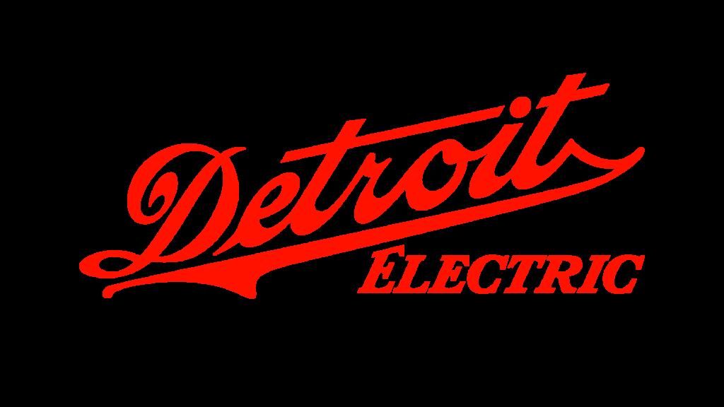 Старая эмблема Detroit Electric