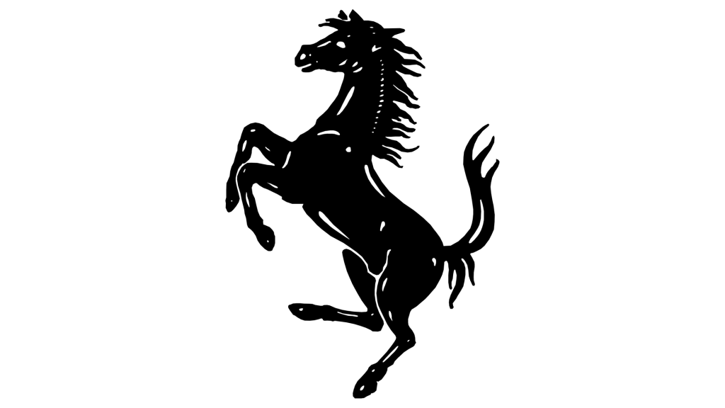 Логотип Феррари с лошадью