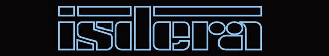 Текстовая эмблема Isdera