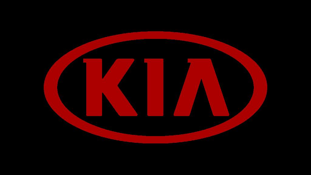 Эмблема Kia (красная)