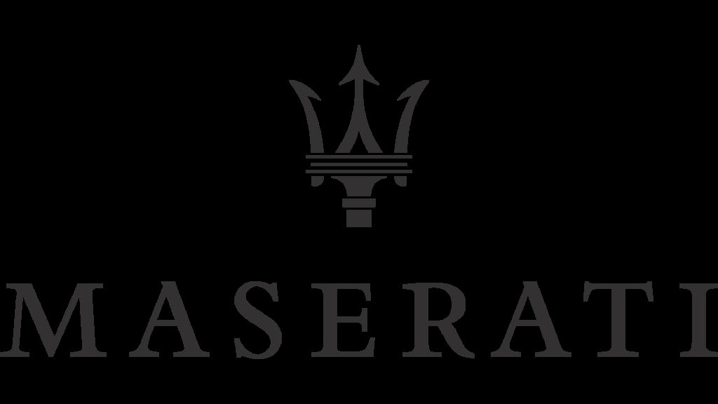 Эмблема Мазерати (черная)