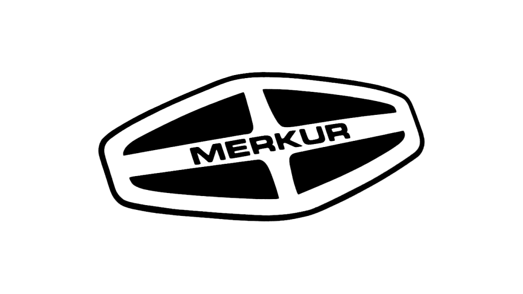 Логотип Merkur (черный)