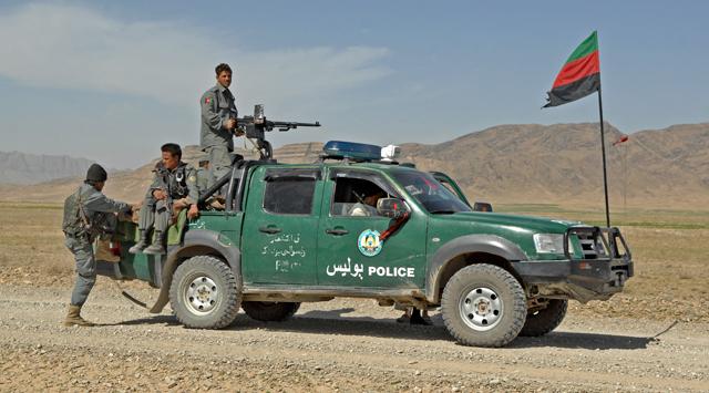 Полицейские автомобили Афганистана