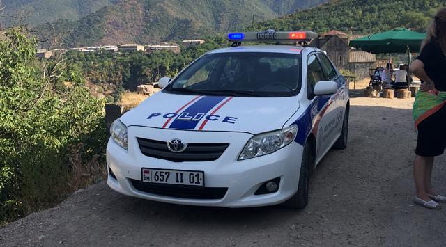 Полицейские автомобили Армении