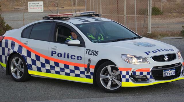 Полицейские автомобили Австралии