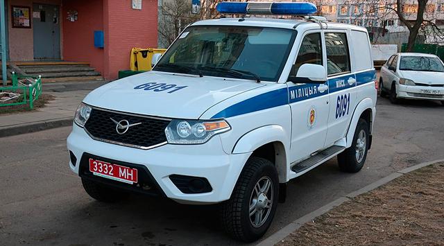 Милицейские автомобили Беларуси