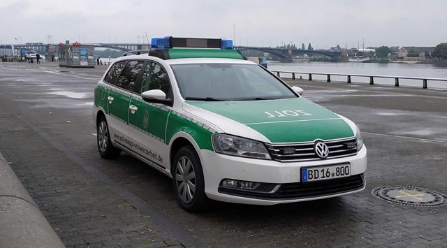 Полицейские автомобили Германии