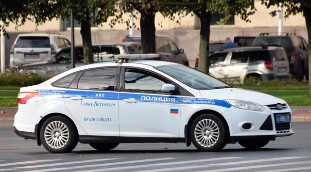 Полицейские автомобили России