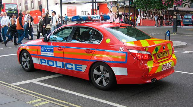 Полицейские автомобили Великобритании