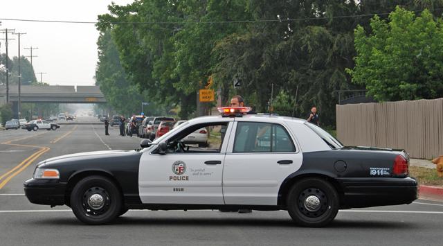 Полицейские автомобили США