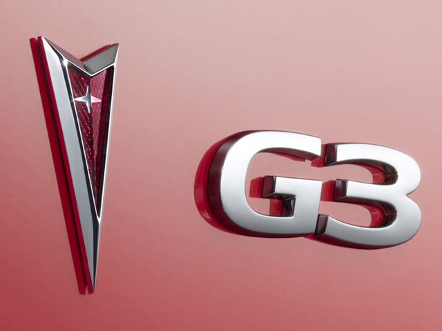 Знак Pontiac G3