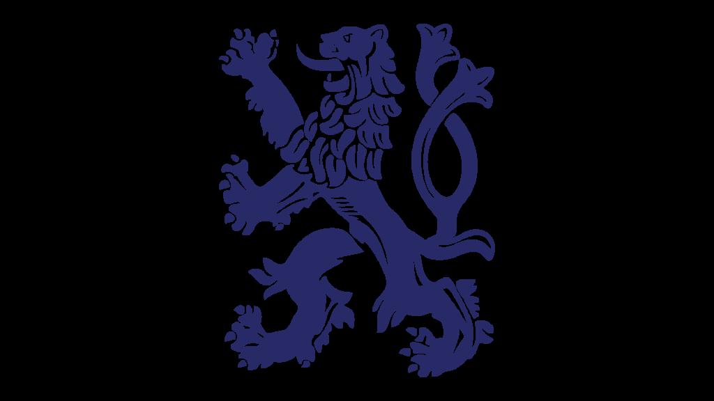 Эмблема Прага со львом