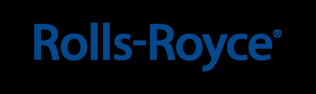 Текстовый логотип Rolls-Royce