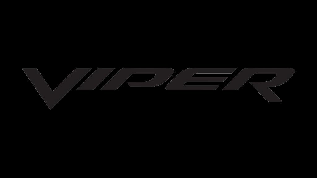 Текстовый логотип Додж Вайпер